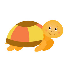 Turtle for children vector
