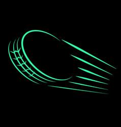 wheel tire track speed vector image