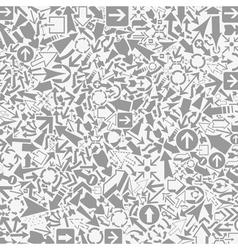 Background of arrows6 vector image vector image