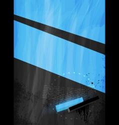 decorative grunge vector image vector image