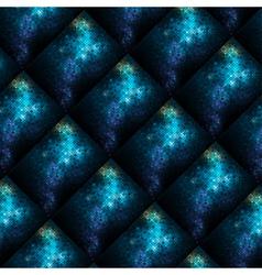 abstract shiny mosaic vector image vector image