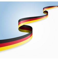 Germany flag background vector image