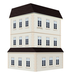 3d design for talk building vector