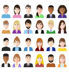 Group og working people diversity diverse vector