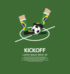 Kick off vector