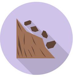 Landslide vector