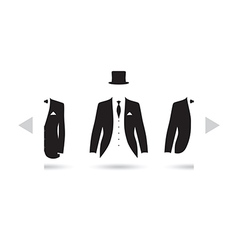 Posh suit selection vector