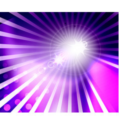 shiny sunny flares abstract background bright vector image