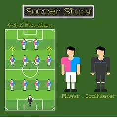 Soccer Story 3 vector
