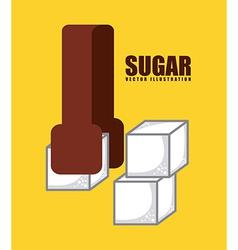 sugar product vector image vector image