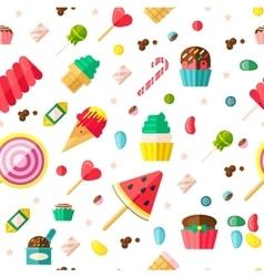 Sweet Seamless Pattern vector image