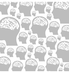 Head a background vector image