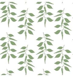 Seamless pattern Black pepper vector image