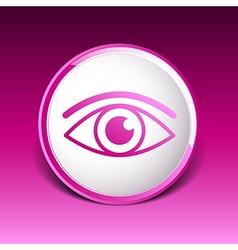 Eye icon vision symbol look graphic pictogram vector image