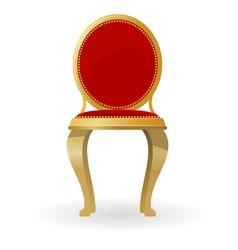 retro chair vector image vector image