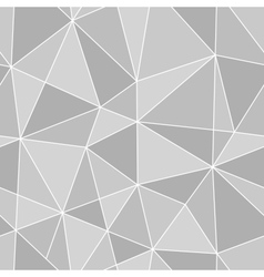 Seamless triangles texture abstract vector