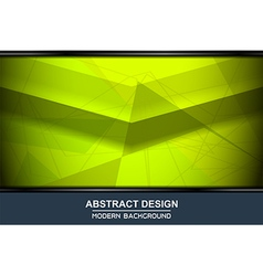 abstract green backgrounds design vector image