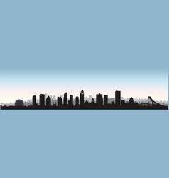 america american architectural architecture vector image
