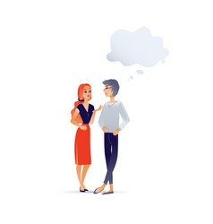 cartoon women talking vector image