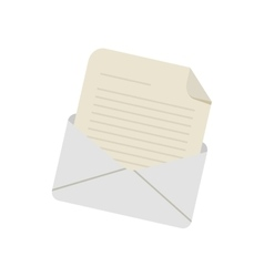 Email envelope message letter vector