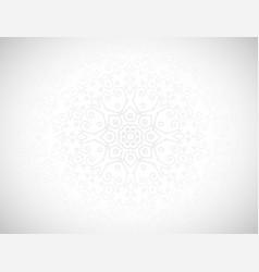 Floral 3d pattern background vector