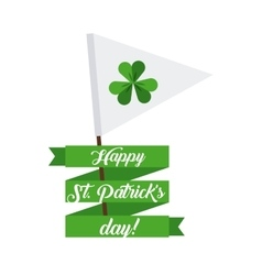 Saint Patricks Day design vector image