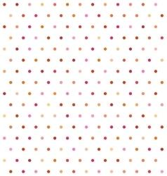 Varicolored polka dot background Non seamless vector image