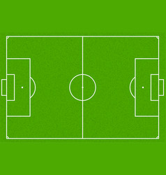 soccer field or football field eps10 vector image