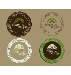 Brand identity elements - logo templates and vector image