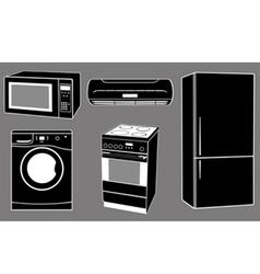 house appliances vector image