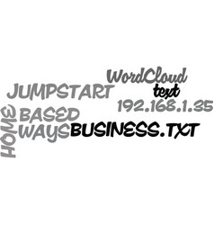 ways to jumpstart your home based business text vector image vector image