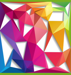 Abstract triangle composition vector