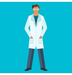 Doctor Health care Medical flat vector