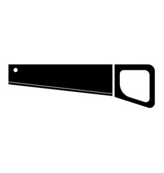 Handsaw the black color icon vector