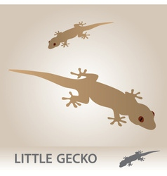 Little gecko eps10 vector