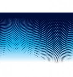 Ocean halftone wave vector