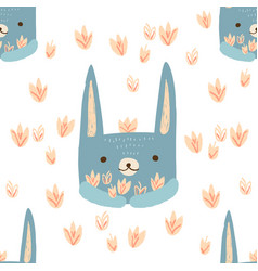 Pattern hare vector