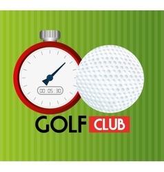 Sport golf club vector