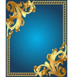 Vintage Golden Frame vector