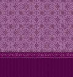 vintage wallpaper with arabesques vector image