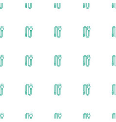 Wire icon pattern seamless white background vector