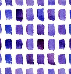 Watercolor modern pattern vector image vector image