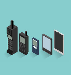 Cell phone evolution vector