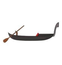 Gondola icon cartoon style vector