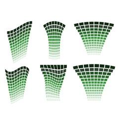 Green design elements vector