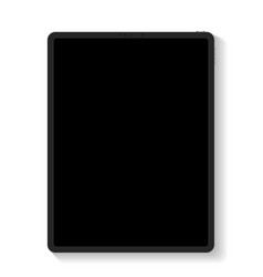 tablet with blank screens isolated showcase your vector image