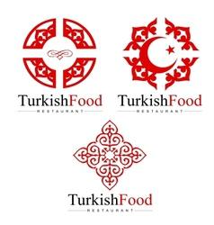 Turkish Design Creative vector image