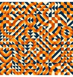 Seamless Irregular Geometric Blocks Square vector image