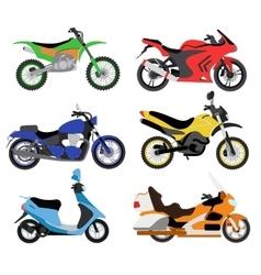 motorcycles Moto bike vector image vector image