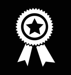 award icon design vector image